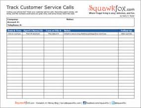 customer service spreadsheet template worksheet track your customer service calls to save money