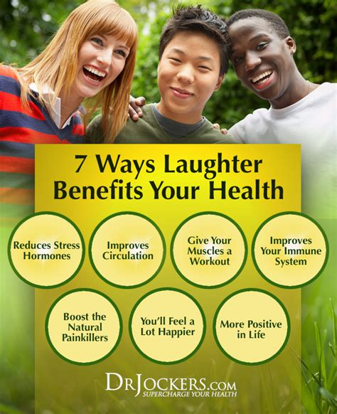 7 Benefits Of Laughter by 7 Ways Laughter Benefits Your Health Drjockers