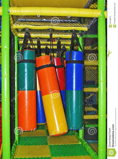 indoor playground playthings stock photo image 52128972