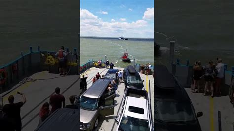 sinking boat put in bay coast guard and ferry rescue seven from sinking boat in