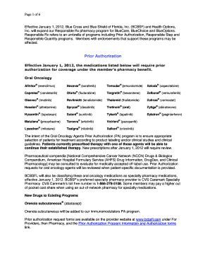 Prime Therapeutics Printable Prior Authorization Form