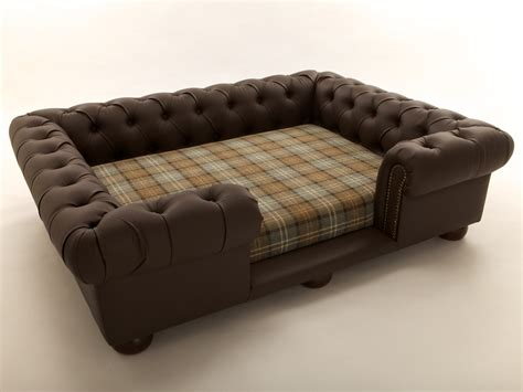 leather dog sofa bed shop balmoral large pet sofas and beds in luxurious