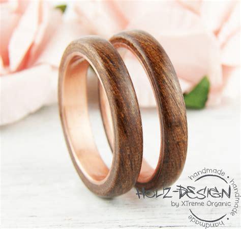 Eheringe Holz Ringe by Holzringe Kupfer Ring Mit Holz Bentwood Ringe Eheringe