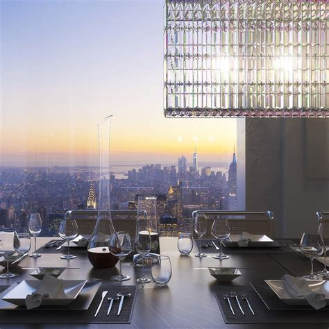 tower new york penthouse breathtaking 95 million penthouse rises 1 369 ft above new york city