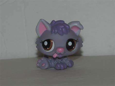 lps husky puppy lps littlest pet shop 1752 purple huskie husky puppy brown ebay