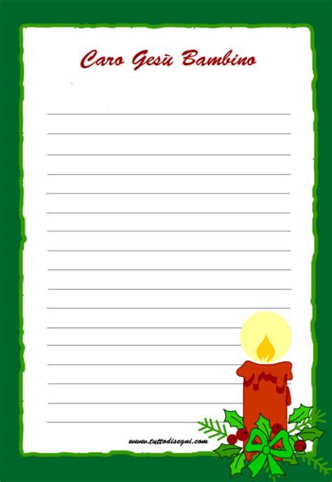 lettere a gesu bambino carta da lettere archives tutto disegni