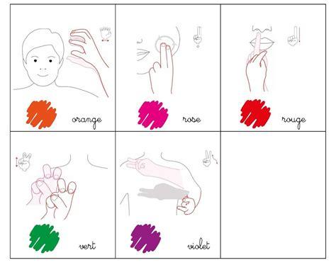 language de m 233 mo les couleurs lsf makaton et language des signes
