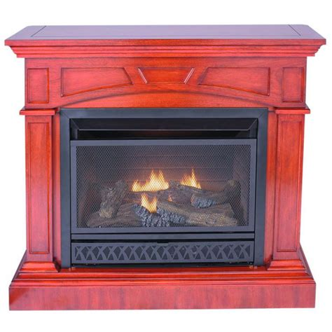 procom jefferson ventless gas fireplace dual use surround thermostat gas