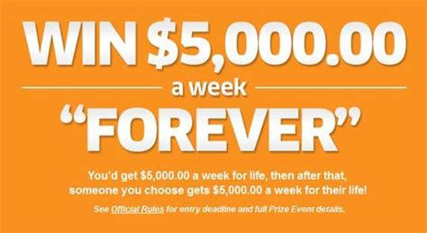Pch Entry By Mail - pch com nbc win 5 000 00 a week forever sweepstakes sweepstakes pit