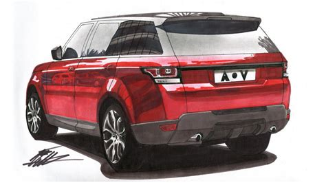 range rover drawing car drawing range rover sport lapse