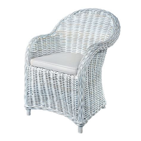 white wicker armchair rattan armchair modern furniture home design ideas