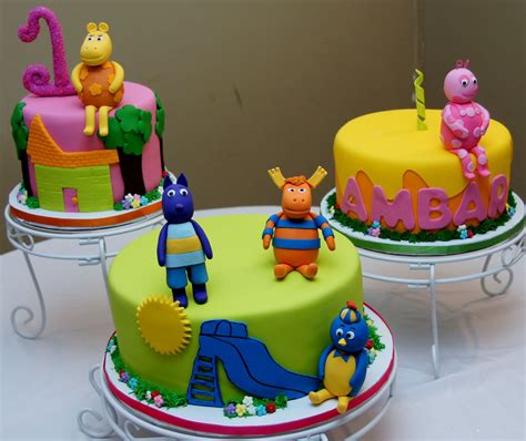 Backyardigans Cake Backyardigans Cake Trio Cake In Cup Ny