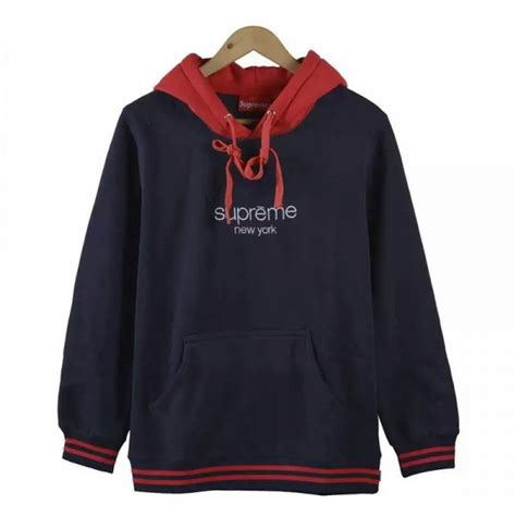 Hoodie Sweater Supreme For new supreme classic logo hooded sweatshirt buy supreme