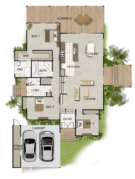 split level homes floor plans split level house plan on timber floor australian houses