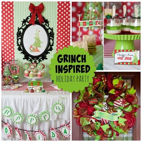 grinch pinterest kids party ideas grinch inspired