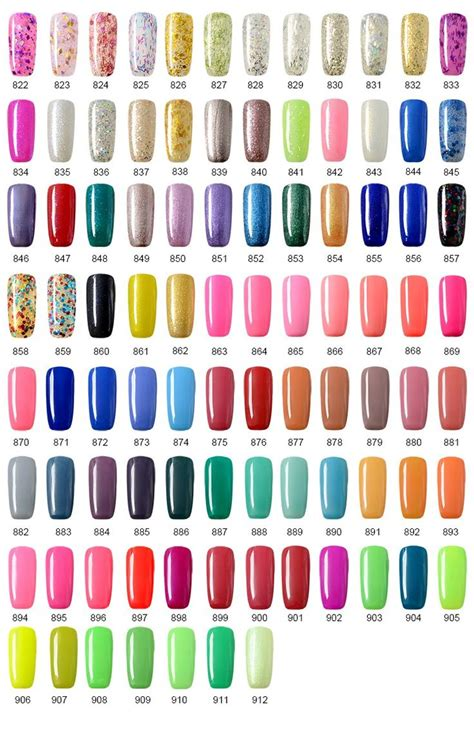 gelish nail colors 489 best gel images on gel gel