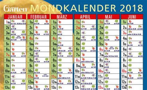 Garten Pflanzen Mondkalender by Mondkalender G 228 Rtnern Nach Dem Mond Mein