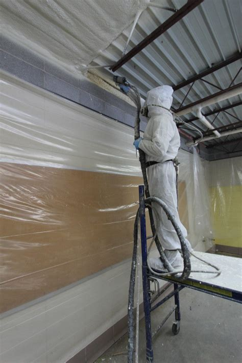 ceiling insulation installers closed cell spray foam insulation metal roof in