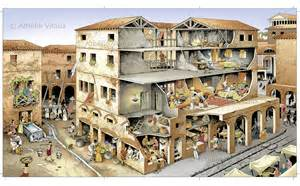 Rome Appartments by Ancient Insula A Type Of Apartment Building That