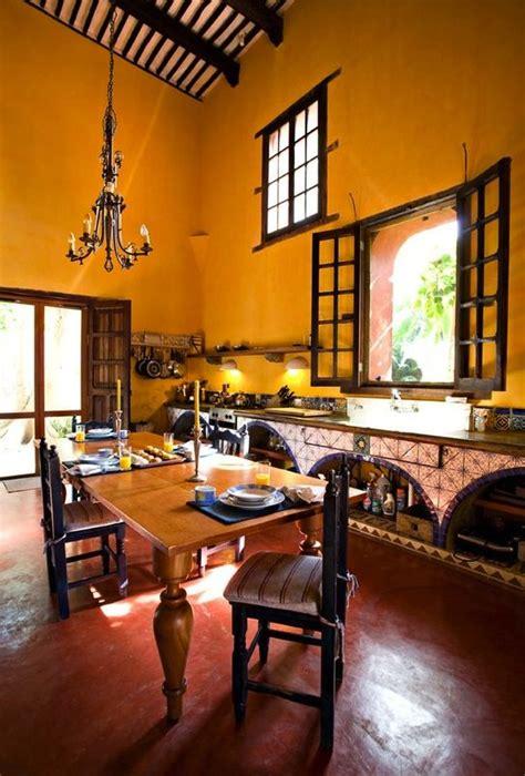decoration espagnole maison hacienda haciendas tomette sol et