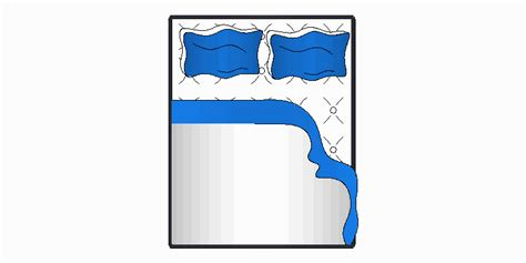vista color bloques autocad gratis de cama doble a color vista en planta