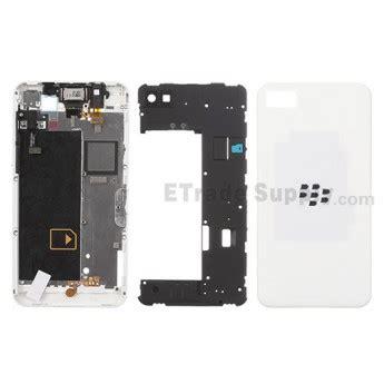 Cassing Blackberry Z10 Kesing Bb White Housing blackberry z10 complete housing 4g version etrade supply