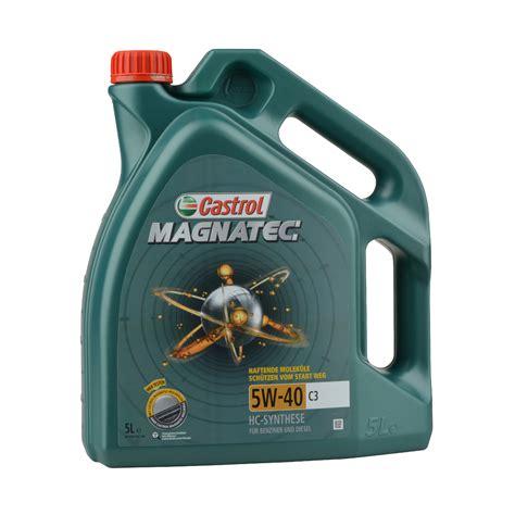Castrol Magnatec Liter castrol magnatec 5w 40 c3 5 liter