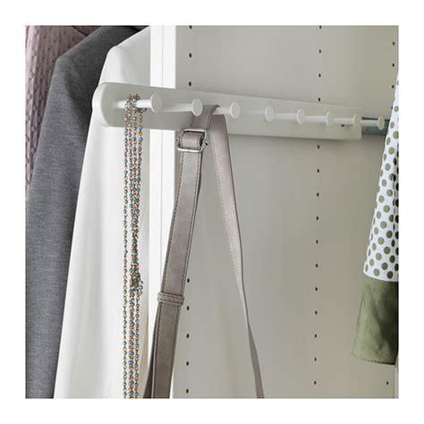 ikea wardrobe hanger komplement pull out multi use hanger white 58 cm ikea