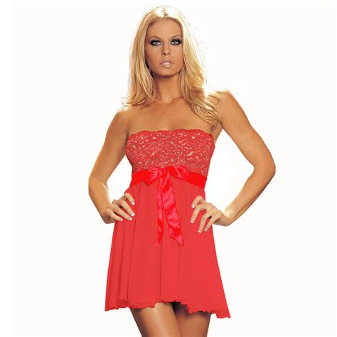 Lace Babydoll Set Bc10079 Lingerieonyou womens lingeries set babydoll lace sleepwear pajamas ebay