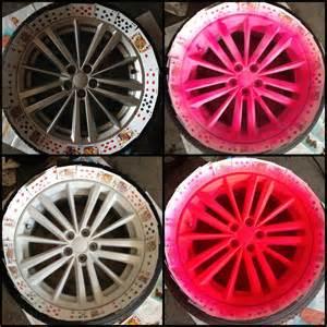plasti dip colors rims plasti dip rims quot blaze quot pink todo espa 241 ol