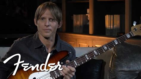 chris chaney chris chaney on the fender select jazz bass fender youtube