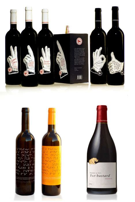 cool wine writing for designers unique wine bottles