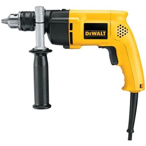 dewalt 1 2 inch single speed hammer drill with kit the