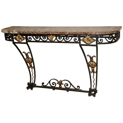 cast iron sofa table a cast iron console table circa 1850 at 1stdibs