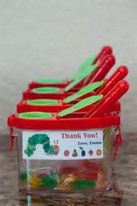 Hungry Caterpillar Favors by The Sweatman Family S 1st Hungry Caterpillar