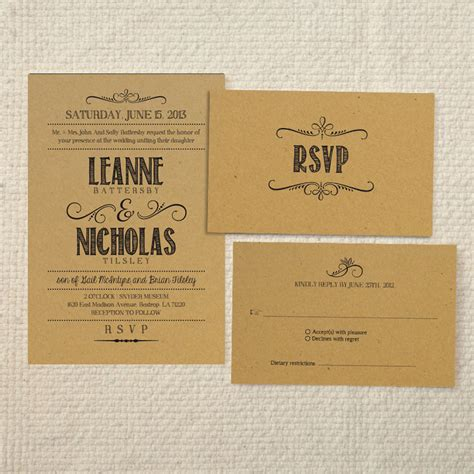 rustic wedding invitations templates theruntime com