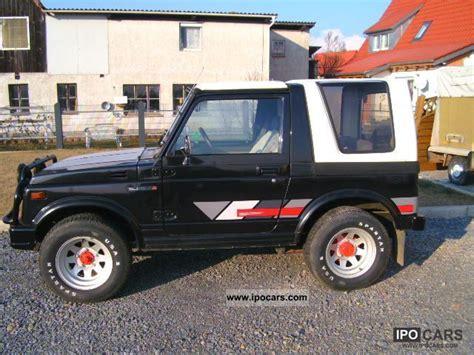 best car repair manuals 1986 suzuki sj 410 parental controls 1986 suzuki sj 410 deluxe hard top car photo and specs