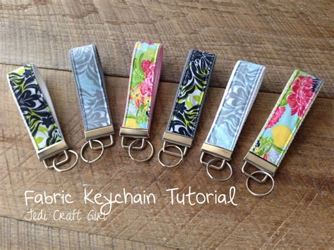 pattern for fabric keychains sewing tutorials