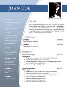 resume templates free download doc best resume example