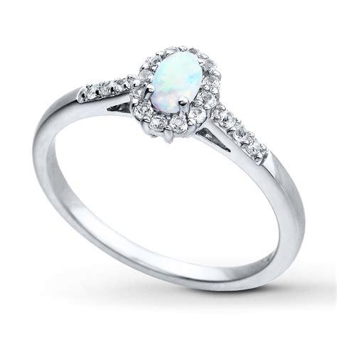 white gold bracelets jewelers opal ring