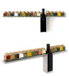 stylish wall mounted spice rack for your kitchen