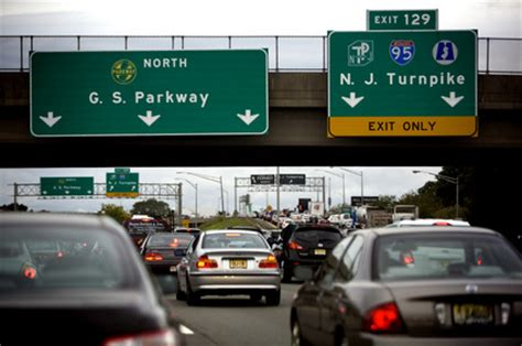 Nj Garden State Parkway Traffic by The Lakewood Scoop 187 Motorists On N J Turnpike Gsp To