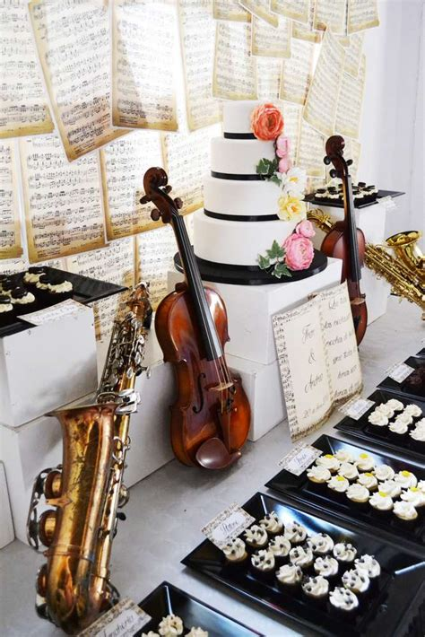 music themes for parties music instruments wedding party ideas themed weddings