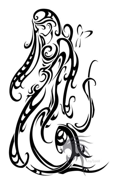 virgo tribal tattoo 35 best virgo designs