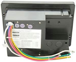 wfco wf 8735 pb black 30 amp power center basic rv