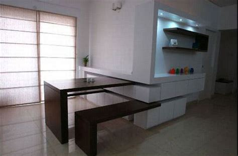 fold out kitchen table incredible furniture set that hides in your wall when not