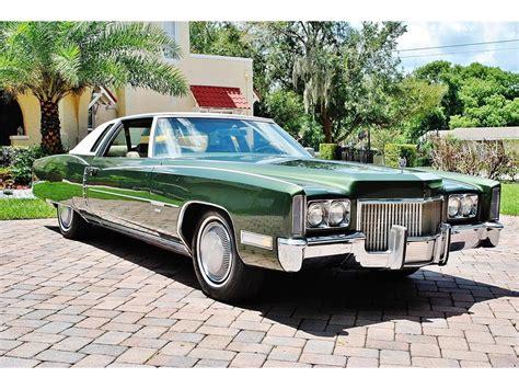 1971 Cadillac Eldorado Convertible For Sale by 1971 Cadillac Eldorado For Sale On Classiccars