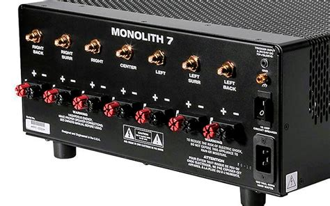 Infinity Bookshelf Speakers Review Monoprice Monolith 7 Seven Channel Amplifier Reviewed