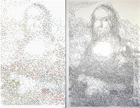 printable mona lisa dot to dot mzgraciev dot to dot to divine incredible portraits by