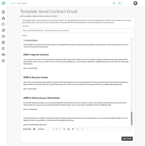 onboarding email template how to use dubsado for business the quickstart guide